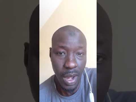 Abdou Karim Gueye : Sidy Lamine Niasse décéde et Macky Sall inaugure je ne sais quoi!!