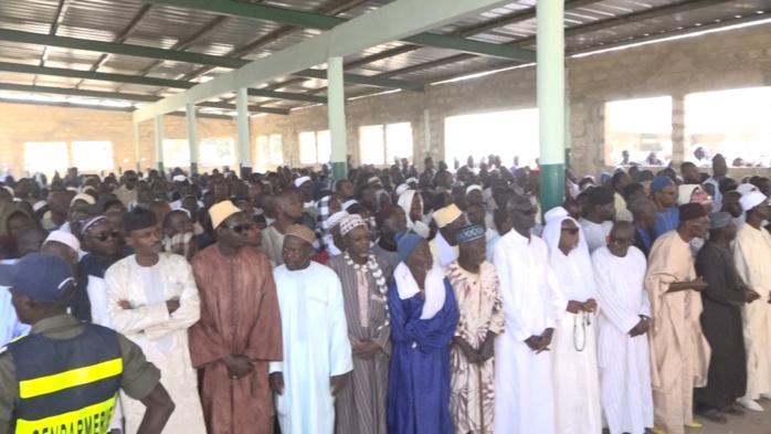 Les images de l'inhumation de Ahmed Bachir Kounta à Ndiassane
