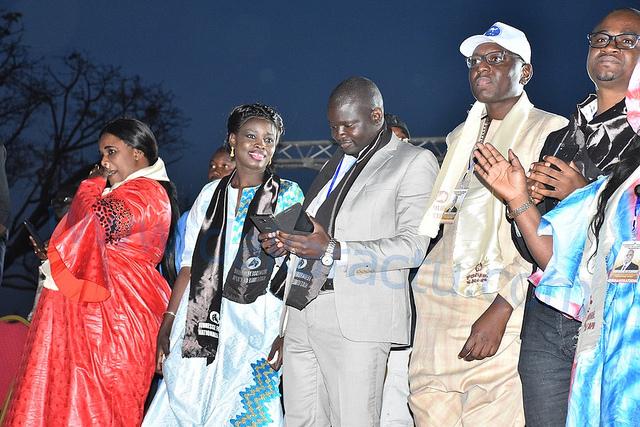 Les images du rassemblement des jeunes de la mouvance présidentielle au Grand Théâtre National