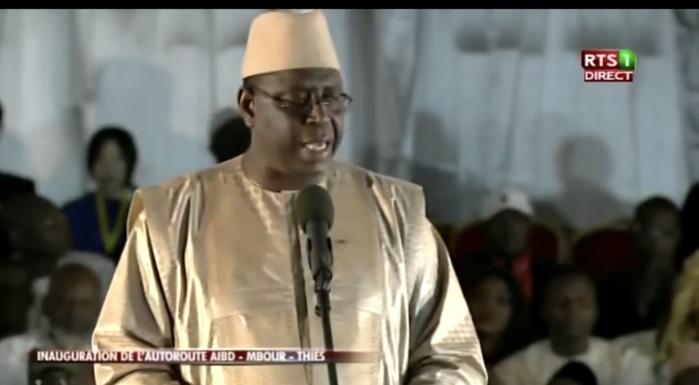 MBOUR : Macky Sall félicite son gouvernement et appelle à un changement des comportements...