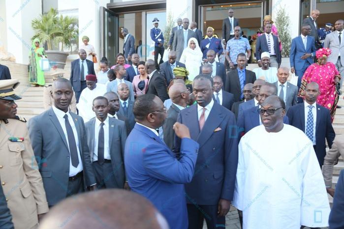 Les images de l'inauguration du Bulding Administratif Mamadou Dia