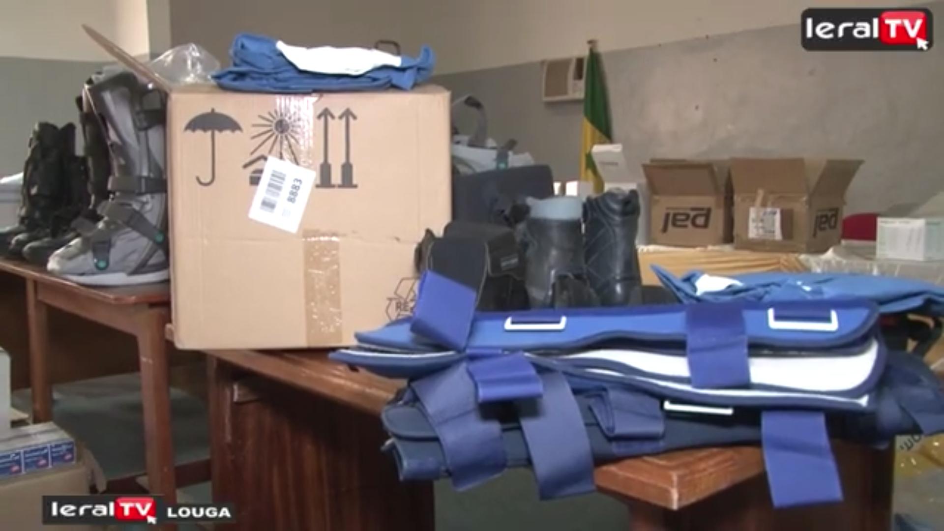 Le Conseil départemental de Louga offre des lots de matériels à l'hôpital Amadou Sakhir MBaye