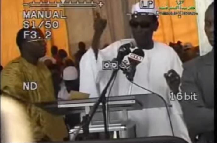 In Memoriam : Allocution de Ahmed Bachir Kounta à la Mosquée Cheikh Ahmadou Bamba en 2009