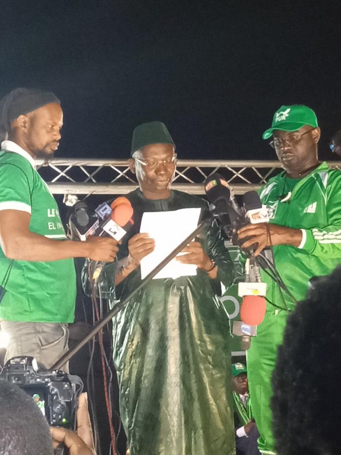 """Campagne 2019 - Issa Sall accuse Abdoulaye Timbo de sabotage : """" Il a tout fait pour que le PUR ne tienne pas son meeting au Stade Alassane Djigo! """""""