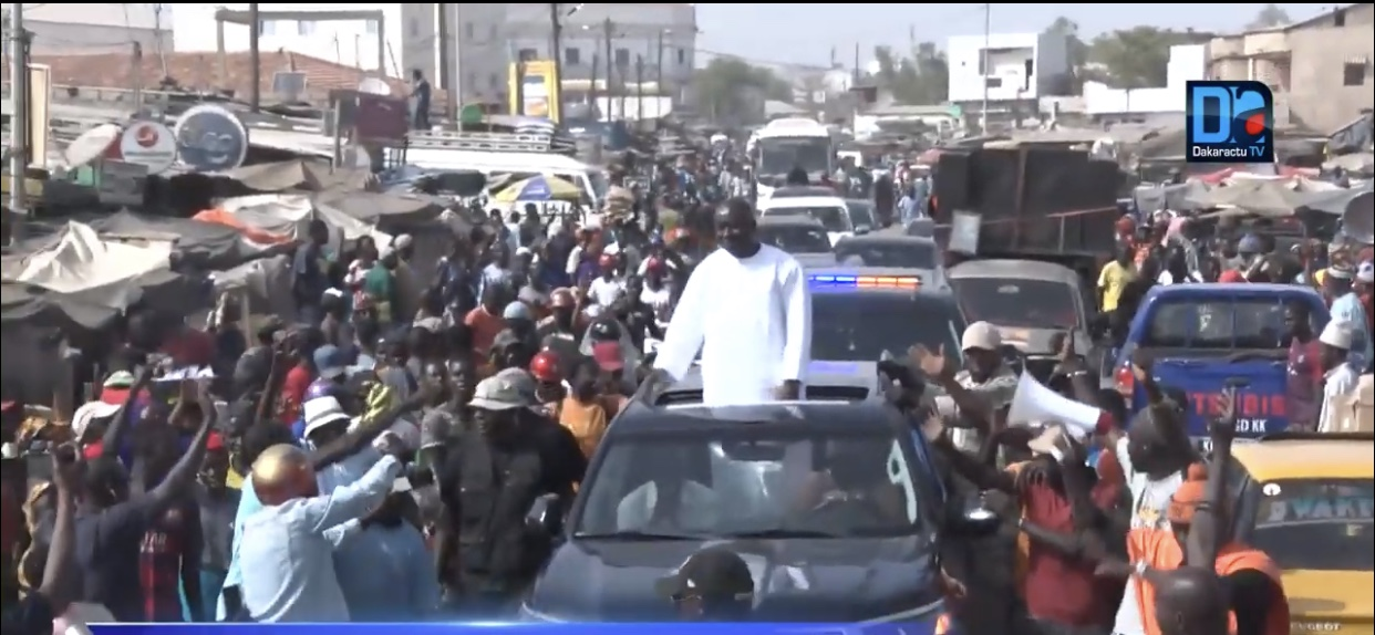 """Campagne présidentielle / Itinéraire de la Coalition Idy 2019 : """"Une marche orange"""" de Nioro, Keur Ayip, Médina Sabakh en passant par Mbirkilane, jusqu'à Kaffrine."""