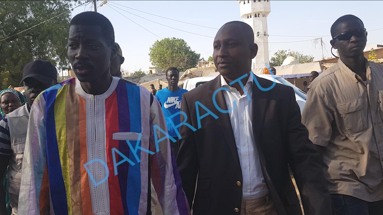 Pape Alioune Diallo et Talla Sylla à l'assaut du 3ième plus grand centre de vote de Thiès
