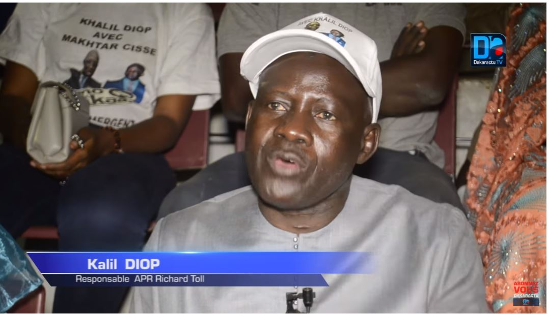 Démonstration de force de Khalil Diop pour une large victoire du candidat Macky Sall au soir du 24 Février