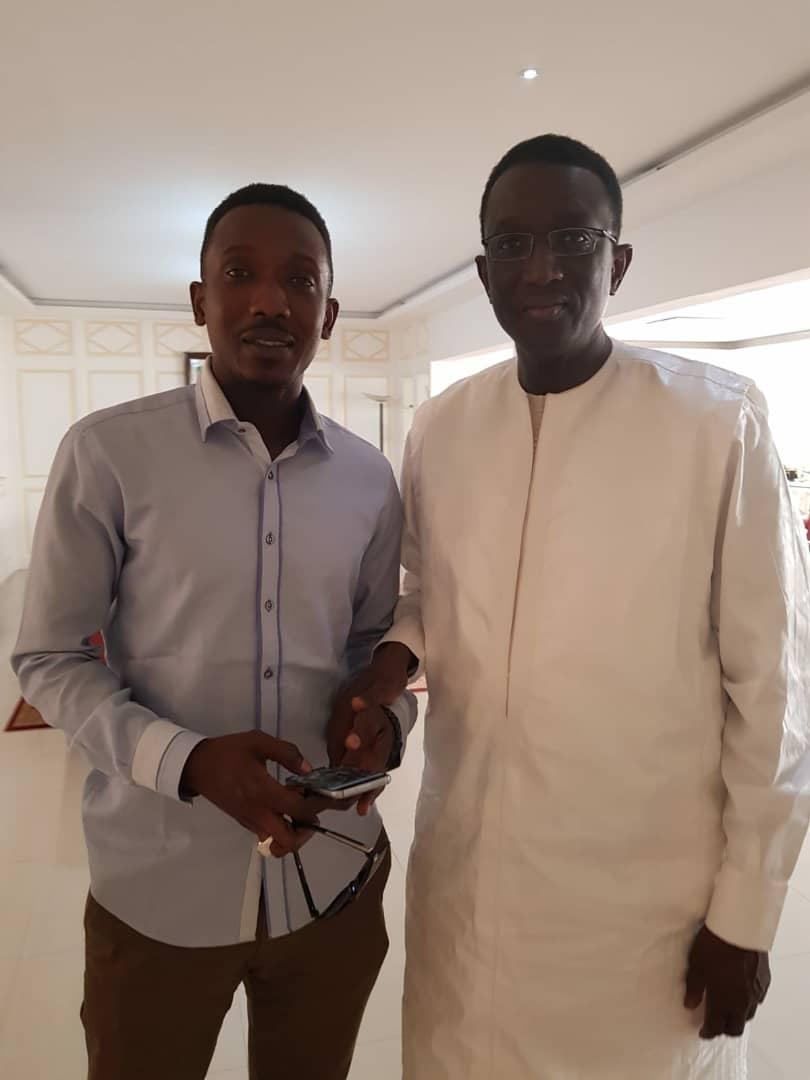Habib Mboup rejoint Amadou Ba