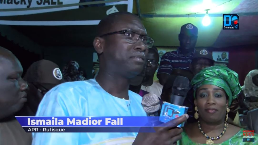Ismaïla Madior Fall salue l'unité au sein de BBY et encense les responsables.