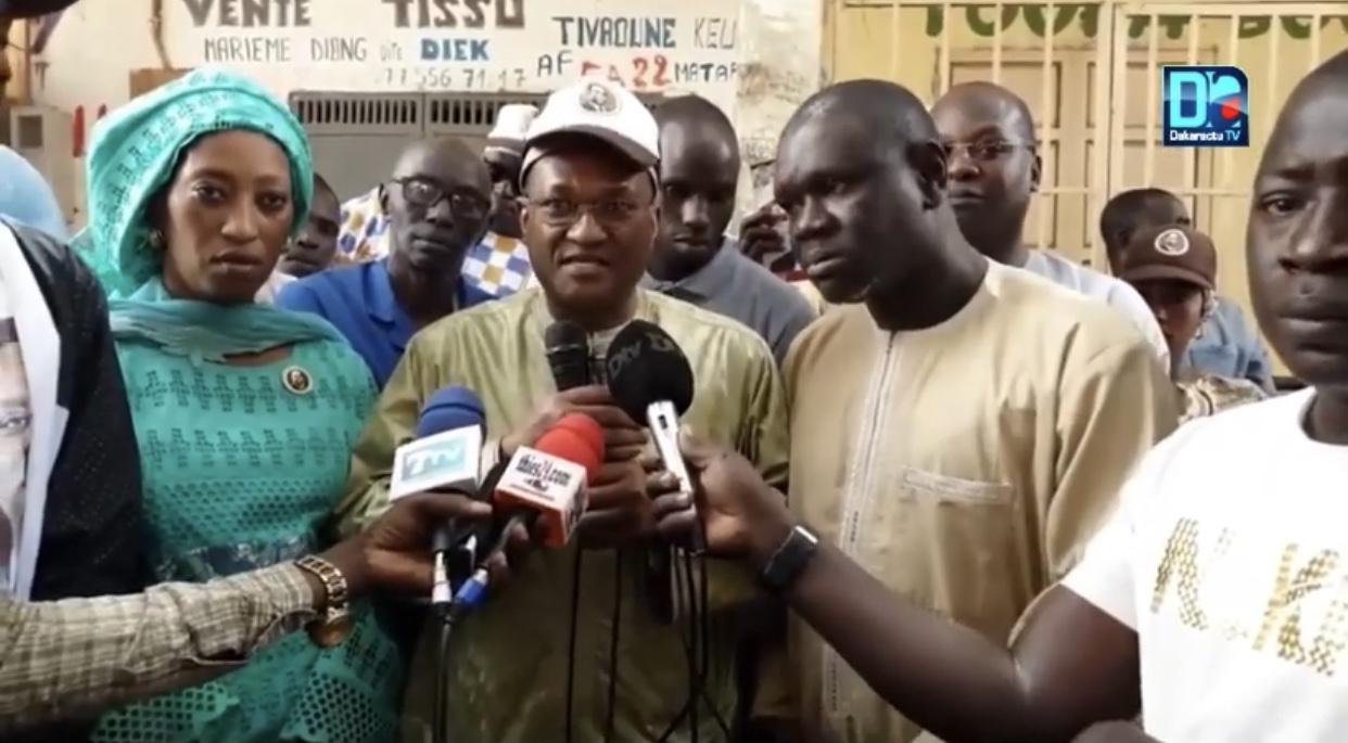 Abdou Ndéné Sall ramène les commerçants à de meilleurs sentiments envers le candidat Macky Sall
