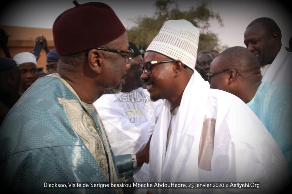 (PHOTOS) DIACKSAO: Les Images de la Visite de Serigne Bassirou Mbacke AbdouHadre, en prelude au Gamou de Diacksao 2020