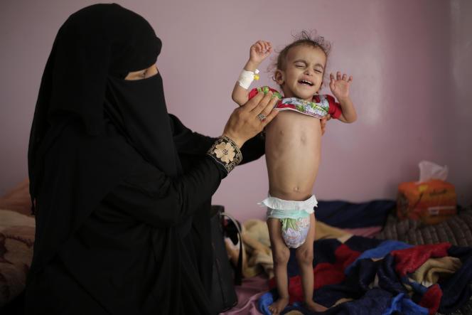Au Yémen, « plus de 16 millions de personnes sont aujourd'hui confrontées à des niveaux de faim critiques », selon le patron du Programme alimentaire mondial (PAM).