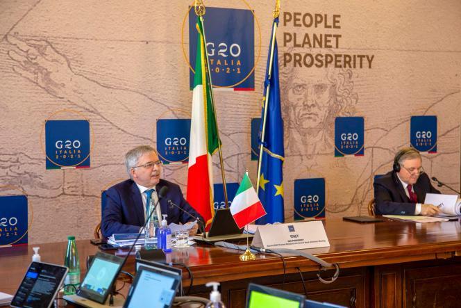 « Nous avons décidé de prolonger l'initiative de suspension du service de la dette des pays les plus vulnérables jusqu'à la fin de2021», a déclaré le ministre de l'économieitalien,Daniele Franco.